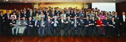 Candidate Kim Min Chan with foreign diplomats in Korea, actualizing through public diplomacy the vis...