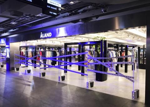 에이랜드가 방콕 시암센터 2층에 에이랜드 태국점을 오픈했다