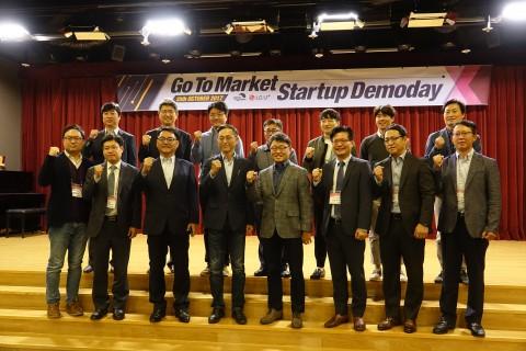 25일 서울 용산에 위치한 LG유플러스 본사에서는 K-ICT 본투글로벌센터와 LG유플러스가 공동으로 마련한 스타트업 데모데이가 열렸다