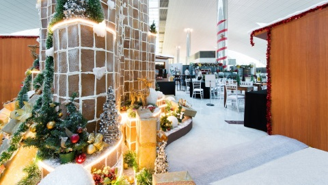 Winter Wonderland DXB arrives at Dubai International Airport