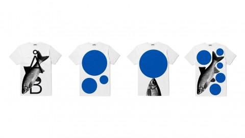 그래피커 워크룸 김형진 디자이너의 물고기 티셔츠