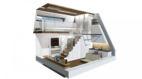 Peak life Unit rendering image