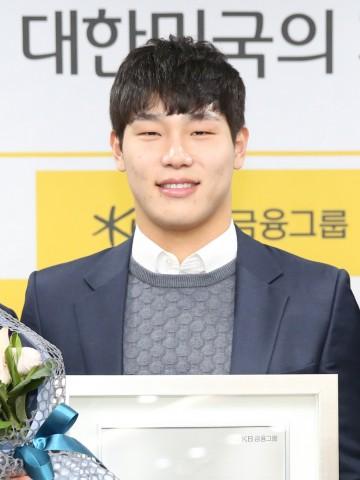 KB국민은행 광고 모델로 발탁된 윤성빈 선수