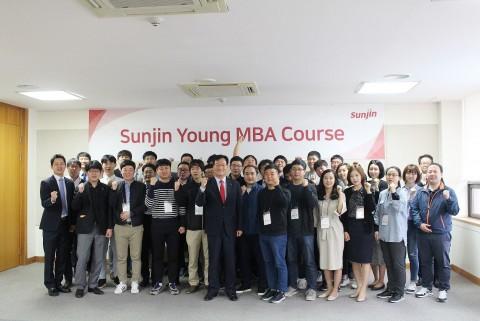 선진이 개최한 과장급 직원 대상 경영교육 Young MBA 현장