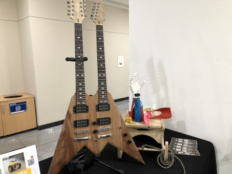 Electronic Guitar by Tex 직접 원하는 형태로 디자인한 전자 기타