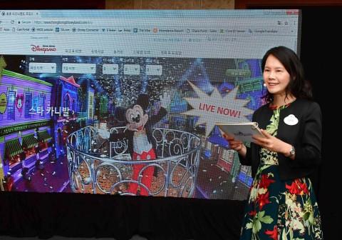 홍콩 디즈니랜드는 28일 오전 서울 소공동 롯데호텔서 국내 미디어를 대상으로 미디어 브리핑을 개최했다. 홍콩 디즈니랜드 리조트 커뮤니케이션 및 공공 부문 부사장 린다 초이가 리조트...