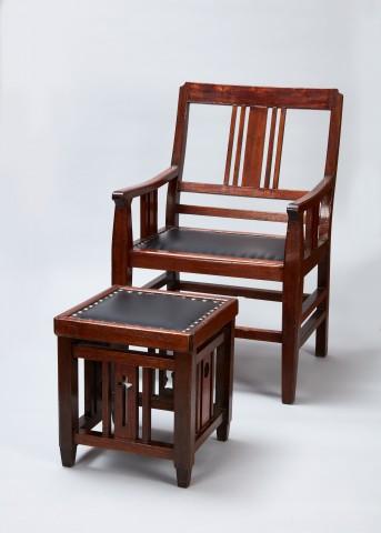 뮈텔 대주교의 의자와 발받침, 1877-1933