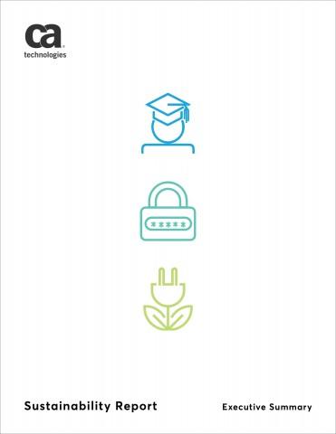 CA 테크놀로지스 지속가능성 보고서