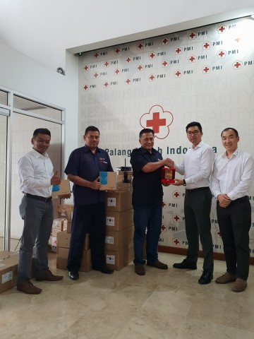 Hytera delivered communications supplies to PMI in Jakarta (Photo: Business Wire)