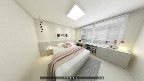 한샘리하우스 온라인 VR 모델하우스 침실