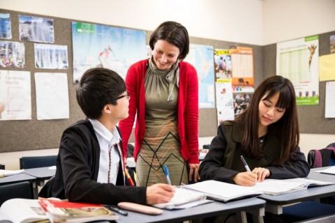 수업 중인 뉴질랜드 교실