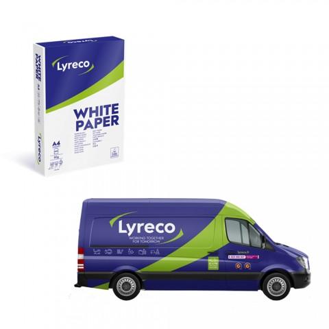 리레코는 제품 패키지와 배송 차량을 위한 새로운 디자인을 선보인다