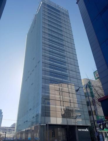 부산 현대카드 빌딩의 위워크 서면