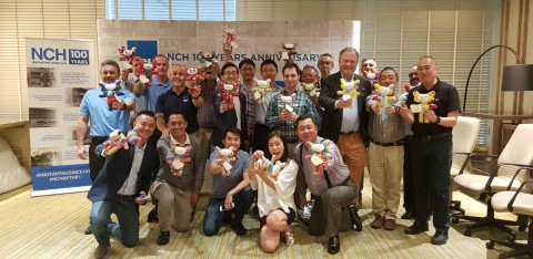 NCH Asia's officials participated in the Happy Dolls Project, as part of the CSR Program in cel...