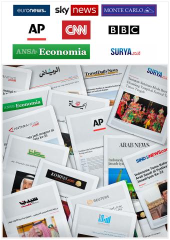 아랍 지역 및 세계 각국 미디어들이 자나드리아 축제를 경쟁적으로 보도