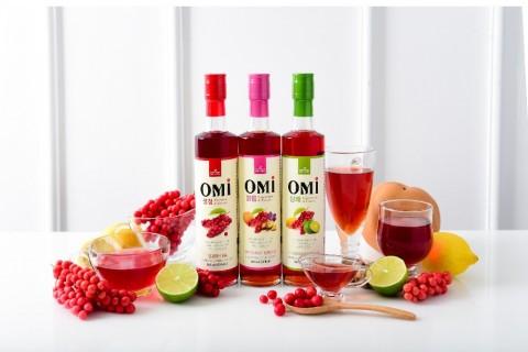 MK Food Valley Corp's Omija Syrup. Korean Omija Drinks captivate Worldwide Consumers' taste buds wit...