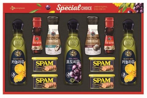 CJ제일제당 2018년 설 선물세트 특별한선택 1호