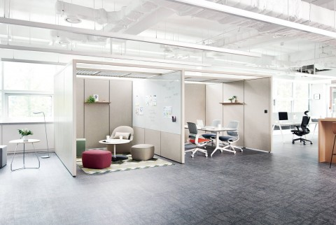 효율적인 오피스 공간 구성을 위한 시스템부스 스팟 출시