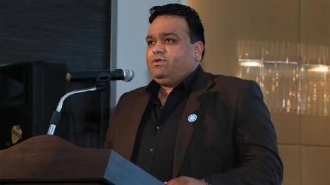 로커스체인의 시니어 어드바이저이자 World CRS day에서 선정한 전 세계 스마트시티 리더 51인의 일원이기도 한 우즈만 자파 박사