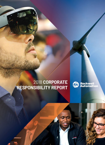 로크웰 오토메이션의 2018년 기업의 사회적 책임 보고서