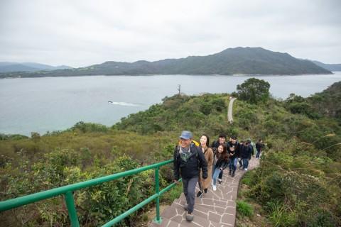 한국 참가자들은 사이쿵의 지오파크에서 하이킹을 진행함으로써 홍콩의 그레이트 아웃도어가 선사하는 새로운 매력을 경험했다