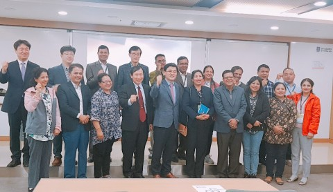 코리아텍 능력개발교육원은 네팔 기술교육연수원과 직업교육대학협의체 분야 협력강화를 골자로 MOU를 체결했다