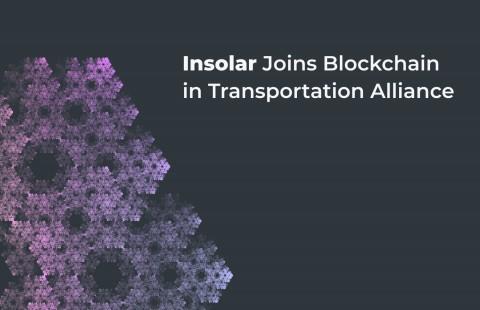 인솔라, 블록체인 운송 연합에 가입