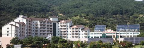 The-K지리산 가족호텔 전경