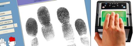 Livescan fingerprint authentication