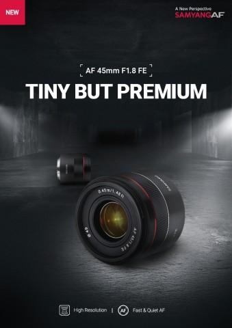 삼양옵틱스, AF 45mm F1.8 FE 출시