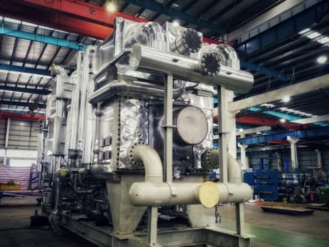 프랑스 브리브 소재 13MW 열펌프