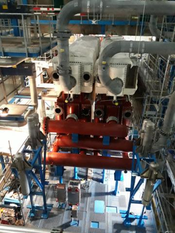 스위스 바젤 소재 30MW 열펌브
