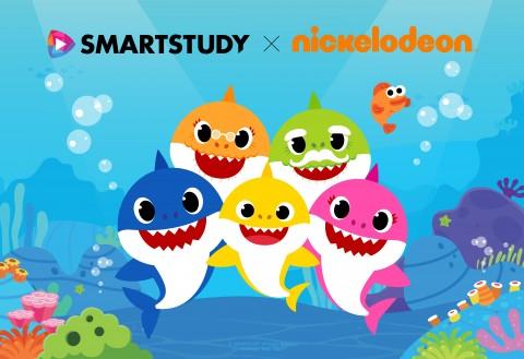 스마트스터디는 니켈로디언과 핑크퐁 아기상어 애니메이션 시리즈를 공동 제작한다