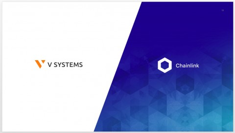 V SYSTEMS & Chainlink 협력