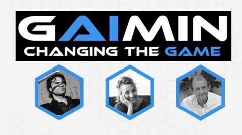 왼쪽부터 Gaimin의 고문 Miguel Ferrero, Bev Warburton, Enrique Santos