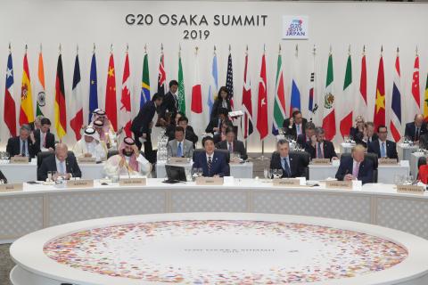G20 오사카 정상회담 오찬