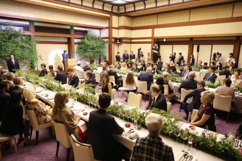 G20 오사카 정상회담 각국 지도자 만찬