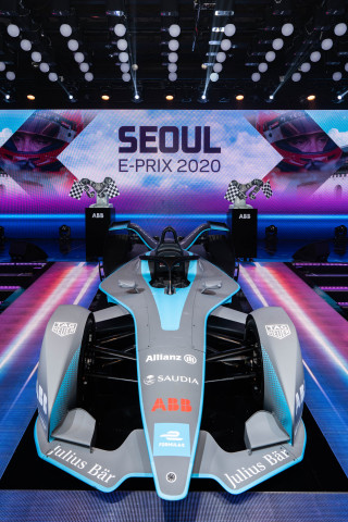 ABB Formula E Gen2 car at Seoul E-Prix 2020