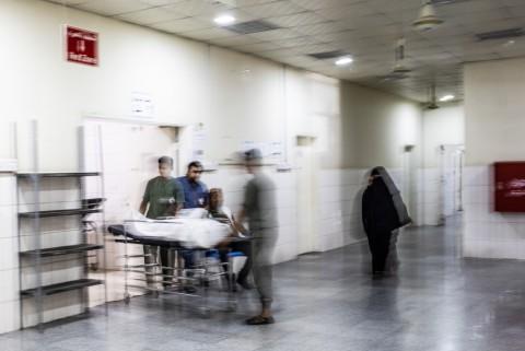 예멘 아덴 국경없는의사회 외상 병원 수술실 및 집중치료실
