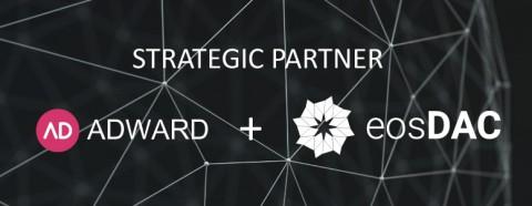 애드워드는 이오스닥과 전략적 파트너쉽을 체결했다