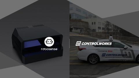 로보센스가 컨트롤웍스와 협력해 한국 자동차 업계에 스마트 라이더 센서 시스템을 공급한다
