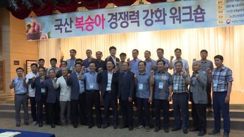 국산복숭아 경쟁력 강화 워크숍