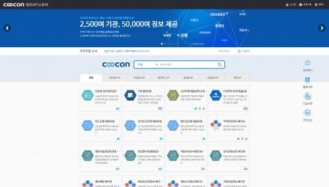 2500여 기관으로부터 5만여 비즈니스 정보를 수집하여 제공하는 쿠콘닷넷