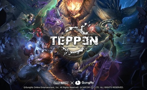 GungHo Online Entertainment launched TEPPEN, a smartphone game jointly developed with CAPCOM in Asia...