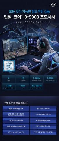 9세대 인텔 코어 i9-9900 프로세서 특징