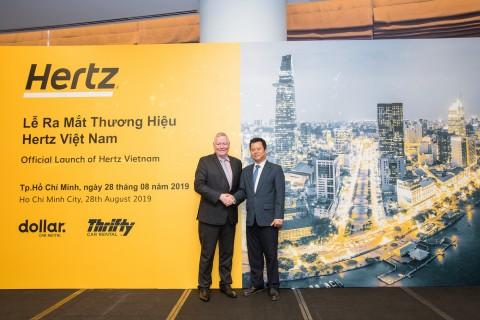 허츠가 베트남에서 공식 프랜차이즈 파트너를 선정했다
