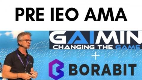 Gaimin.io 커뮤니티에서 최초로 AMA 진행했다