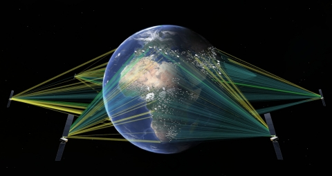 SES Selects SpaceX to Launch Groundbreaking O3b mPOWER MEO Communications System