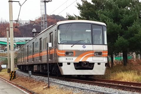 현대로템이 개발한 PMSM이 적용 된 서울시 6호선 열차