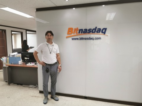 BitNasdaq CEO Lee Ilbum
